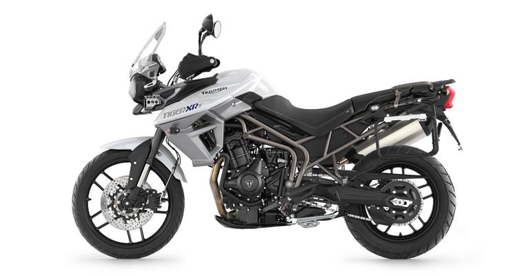 Motocyclette Aventurier Triumph Tiger 800 Xca 2018 à Louer Mi